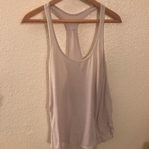 Lululemon low racer back tank top